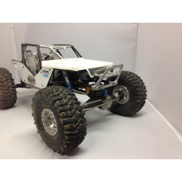 BGR FABRICATIONS Axial Wraith T-2 Front Bumper with Frame Mounts and Gussets
