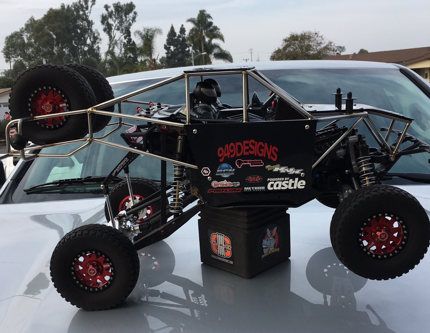Axial Yeti Trophy Truck Cage – 949 Designs LLC TM